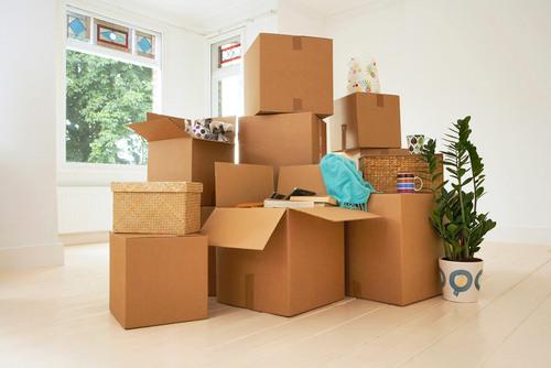 Flyttning och flyttstäd vid byte av bostad